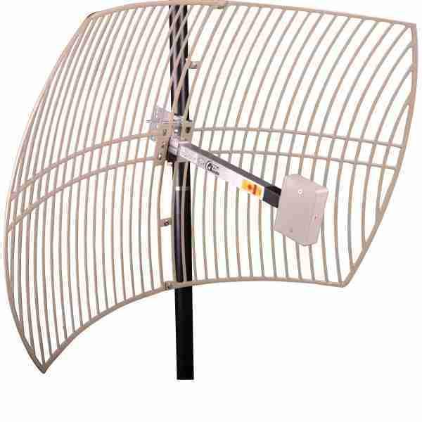 1710-2170MHz Grid parabolic dish Antennas 19 dBi