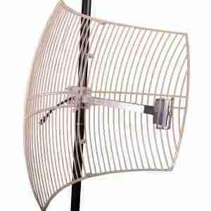 1710-1880 Mhz Grid Parabolic Antenna 20 dbi