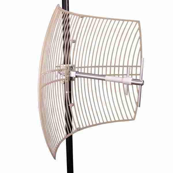870-960 MHz Grid Parabolic Antenna 15dBi