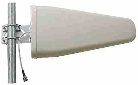 700-2700 MHz Log Periodic Yagi directional Antenna 11 dBi   Low PIM