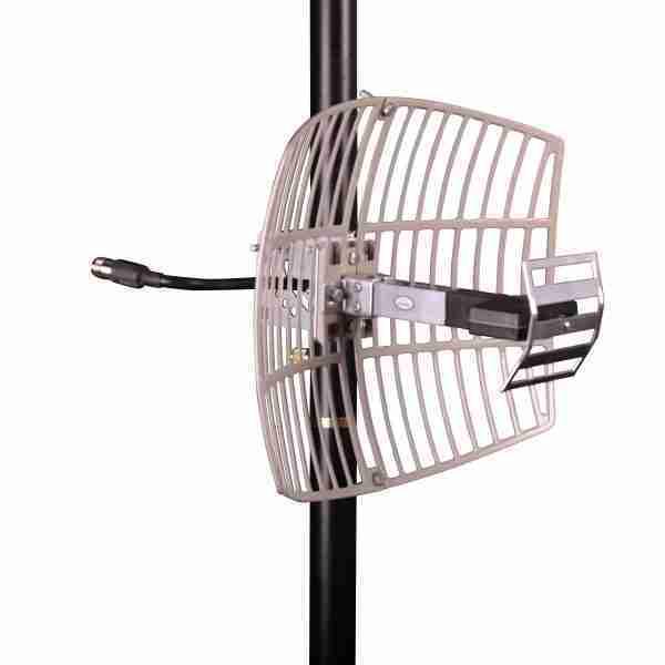 1850-1990 MHz grid parabolic antenna 15 dBi