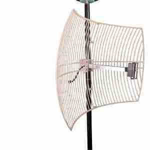 1850-1990 MHz grid parabolic antenna 20 dBi