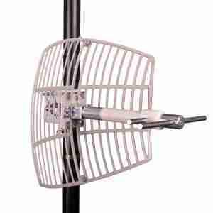 698-755 MHz Grid Parabolic Antenna 10 dBi