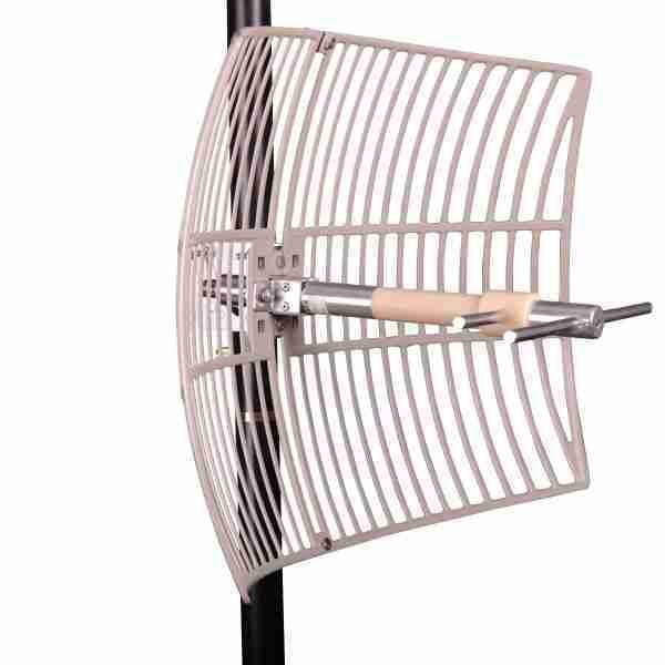 698-755 MHz Grid Parabolic Antenna 12 dBi