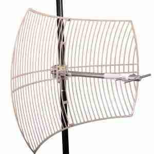 698-755 MHz Grid Parabolic Antenna 15 dBi