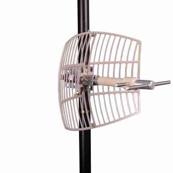 870-960 MHz Grid Parabolic Antenna 10dBi