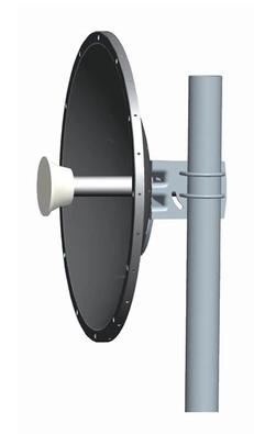 Dual Pol. 4.9-6.4GHz MIMO solid dish parabolic antenna 30 dbi