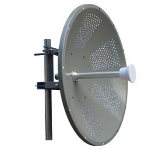 32 dbi 4.9-6.4GHz Dual Pol. MiMo WiFi solid dish parabolic antenna
