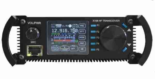X108 HF transceiver (Deluxe Version)