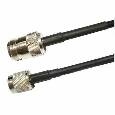 RP-TNC Plug to N Female low loss 240 series Jumper 2-25 feet