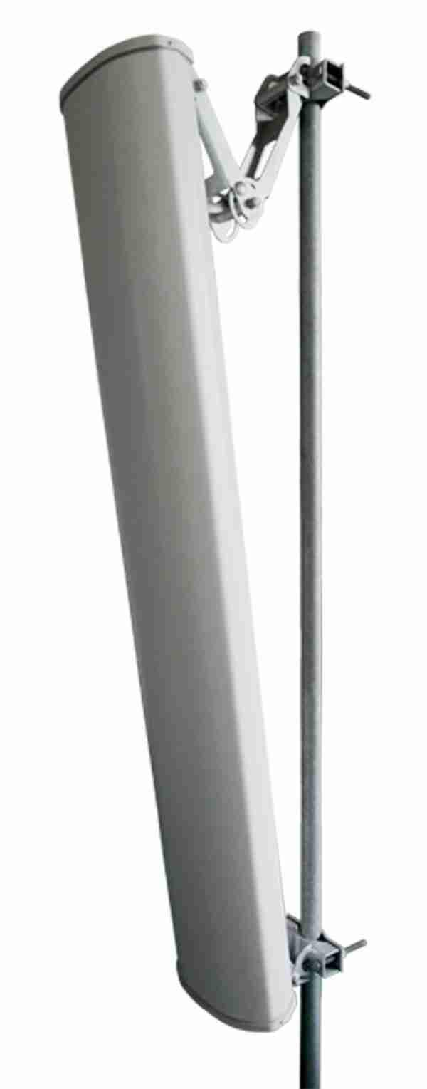 700MHz to 960MHz Dual Polarization MiMO Sector Antenna 15dBi 65 Deg.