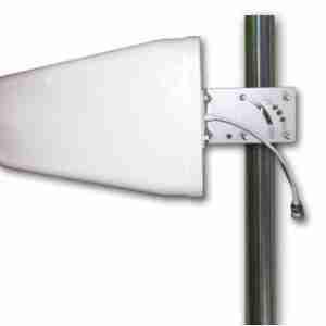 700-2700 MHz Log Periodic yagi directional Antenna 8 dBi | Low PIM