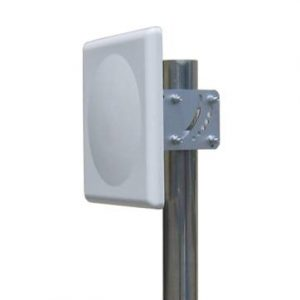 2.4-2.5 GHz Vertical or Horizontal Single Polarization flat panel Antenna 16dBi