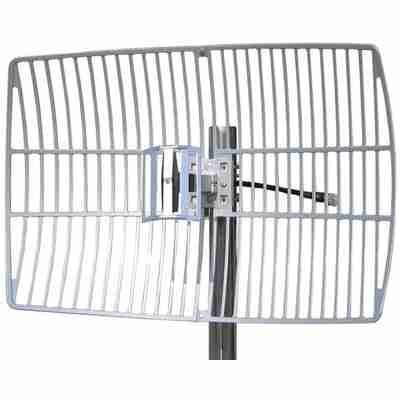 2.5-2.7 GHz grid parabolic antenna 19 dBi