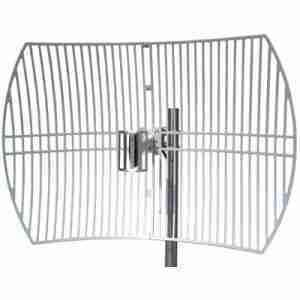 2.4-2.5 GHz grid parabolic antenna 24 dBi