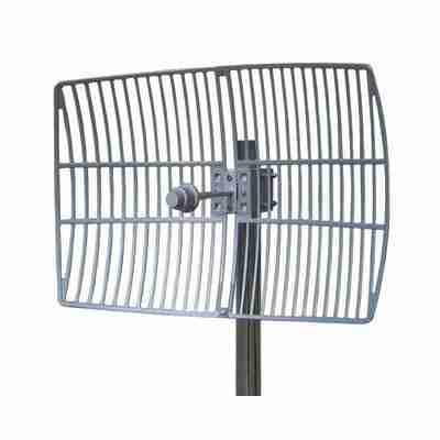 3.6-3.7 GHz Grid parabolic Antenna 23 dBi