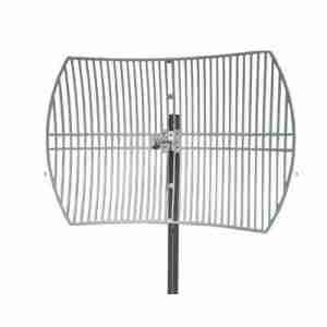 3.6-3.7 GHz Grid parabolic Antenna 28 dBi