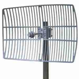 5725-5850 MHz Grid Parabolic Antenna 27 dBi