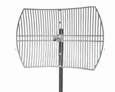 5150-5850 MHz Grid Parabolic Antenna 30 dBi