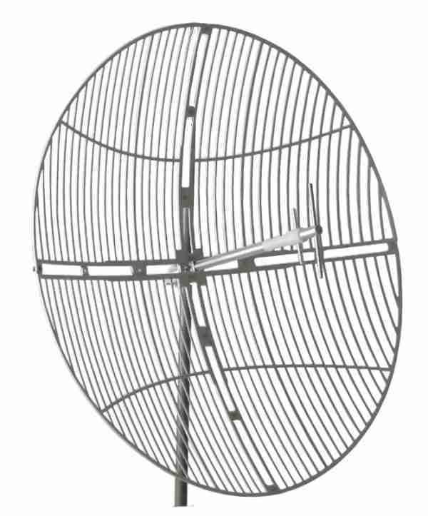 698-755 MHz Grid Parabolic Antenna 16 dBi