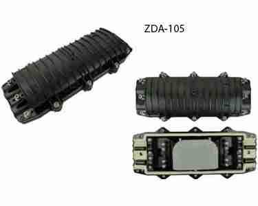 Optical cable splice closure-Horizontal type 4 ports
