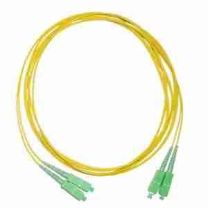 1m (3ft) to 5 M(15 ft) LC/APC to LC/APC Duplex Single Mode PVC 3.0mm Fiber Optic Patch Cable ; G652D