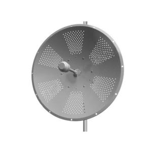 dual pol 2.3-2.7 GHz, solid dish parabolic antenna, 24 dbi
